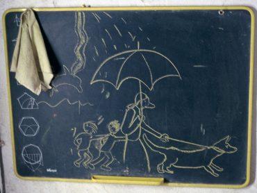 Blackboards with Violeta (2001)