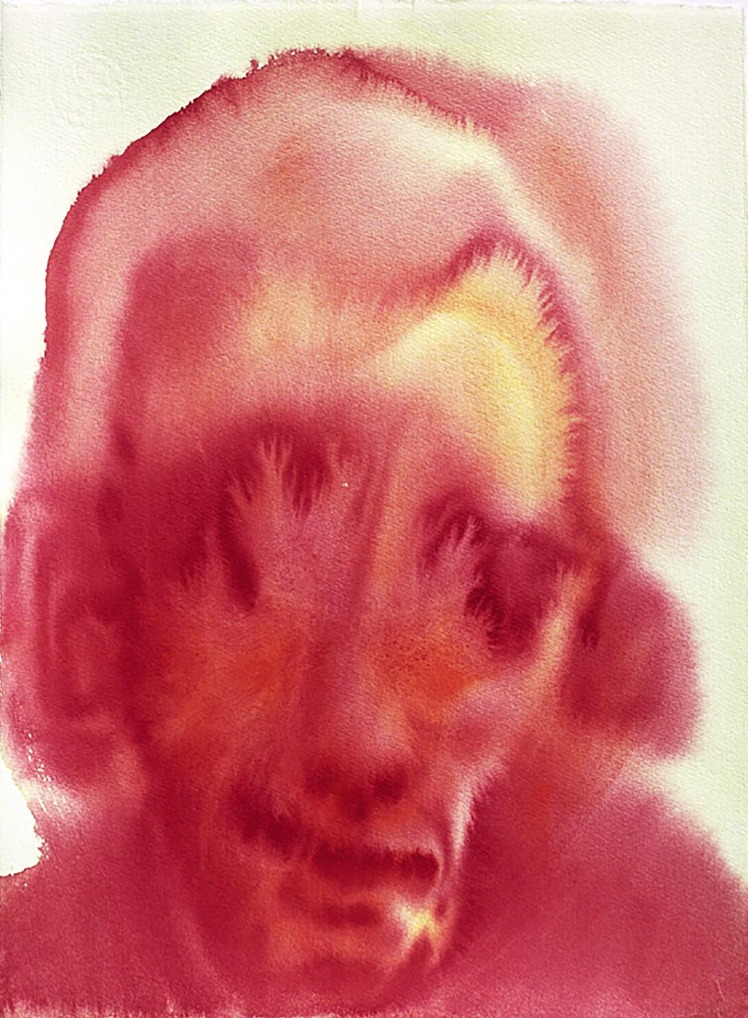 untitled (eye crystals), 39 x 28 cm, watercolour, 2005