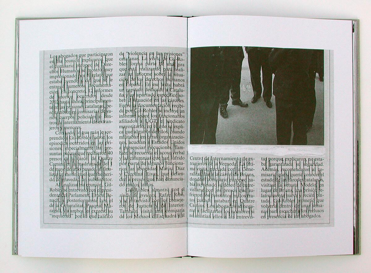 Libro de fantasmas/Book of ghosts, page 48+49 of 100 pages, 29.7x43cm, 2006