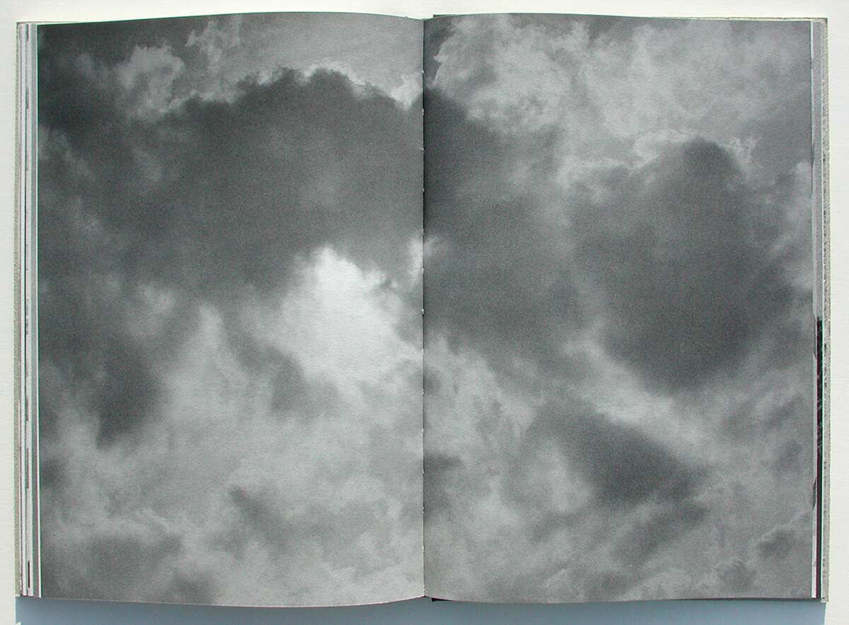 Libro de fantasmas/Book of ghosts, page 76+77 of 100 pages, 29.7x43cm, 2006