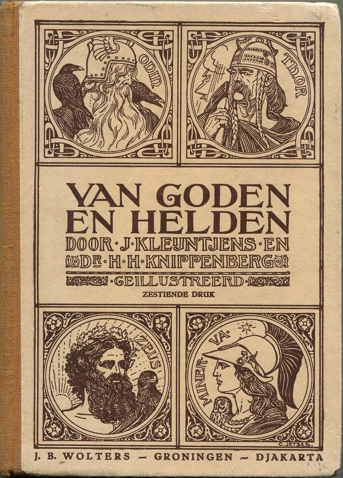 Van Goden en Helden, cover, 20 x 14.5 cm, book 324 pages, 2010