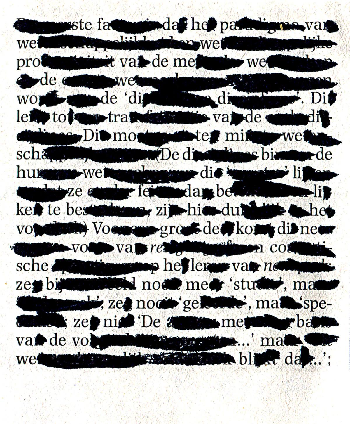 Ste-fa-da, 8 x 6,8 cm, ink on newspaper, 2016
