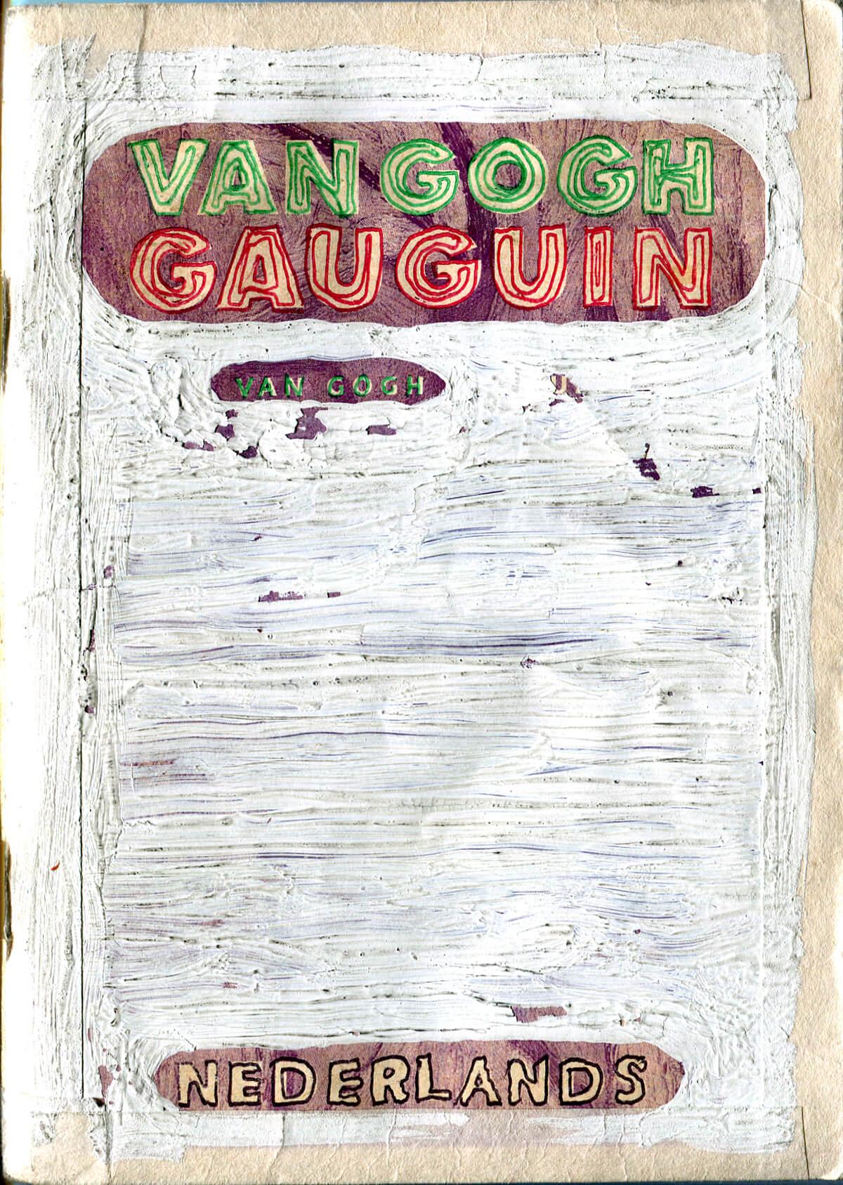 Van Gogh&Gauguin: Encircle, Dutch version, cover, 15 x 10.4 cm, 2002